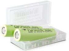 2x Zhuo Neng Li-ion 18650 Akku für Taschenlampen CR123A Accu Batterie 2500mAh