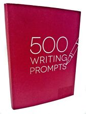 NEW 500 Writing Prompts Journal Practice Notebook Guide Resource Book Piccadilly