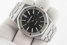 Audemars Piguet Royal Oak Stainless Steel Black Dial 15400ST.OO.1220ST.01