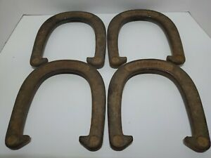Vintage set of 4 J C Higgins 2 1/2 Pound Pitching Horseshoes