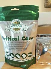 Oxbow - Individual 40g Critical Care Premium Recovery Food Sachet Free Syringe