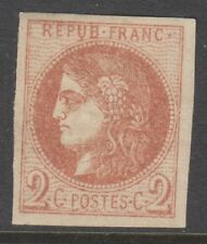 France - 1871, 2c Red-Brown stamp - M/M - SG 152