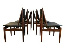 Six Authentic Rosewood Egyptian Dining Chairs by Finn Juhl for Niels Vodder