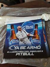 2011 Bud Light String Banner Pennant Flags / Pitbull / New old stock. 20 flags