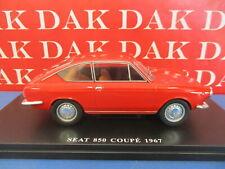 Die cast 1/24 Modellino Auto Seat 850 Coupe rossa 1967