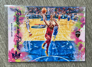 2019– 20 Panini Court kings Kevin Love 24 Points In The Paint Blue Sapphire /25