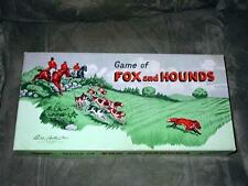 Parker Brothers 1948 - Vintage GAME of FOX and HOUNDS - great fun for the family