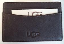 Ugg Australia Leather Money Clip,Black