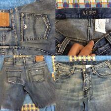 giorgio armani jeans tg 32 46/48 mod indingo 006 blu denim jean's man A.J.