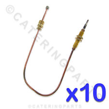 PACK OF 10 x 300mm UNIVERSAL THREADED GAS THERMOCOUPLES FITS SOME KEBAB MACHINES