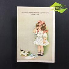 c.1895 WESTERN & SOUTHERN LIFE INSURANCE CINN OHIO ADVERTISING CARD USA