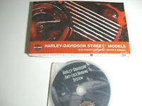 2015 Harley-Davidson Street XG500 XG750 Owner's Owners Manual KIT NEW w ABS DVD