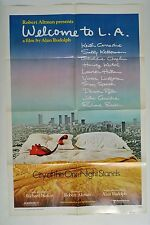 Welcome to L.A. Poster Movie Folded One Sheet 1976 City of the One Night Stands