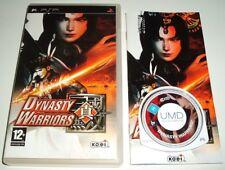 ** ** Dynasty Warriors SONY PSP/PlayStation Portable UMD Hack N Slash Juego en muy buena condición