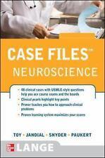 Case Files Neuroscience (LANGE Case Files), Snyder, Evan, Jandial, Rahul, Toy, E