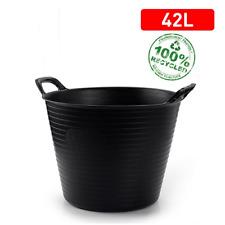 Capazo plastico 42 Litros Negro - G