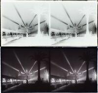 FRANCE Paris Angkor Exposition Coloniale 1931 Stereo Verre Négatif VR2L16n6