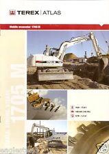 Equipment Brochure - Terex Atlas - 1705 M - Excavator - 2005 (E1949)