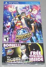 Persona 4: Dancing All Night for Playstation Vita Brand New! Factory Sealed!