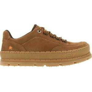 Art Blue Planet 1771 Camel Brown Lux Suede Leather Lace Up Shoe