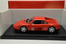 1990 Ferrari 348 TB Rojo Metalizado Hot Wheels X5532
