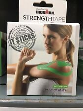 Ironman Precut Kinesiology Tape Hot Green (Free Shipping!)