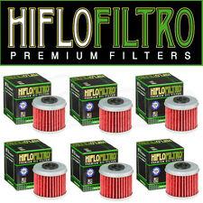 6 x Hiflo Oil Filters HF116 for Honda CRF150R 2007 2008 2009 2010 2011 2012
