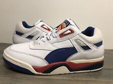 New Puma Palace Guard OG Basketball Shoes White/Red/Blue Men's Sz 9   369587 01