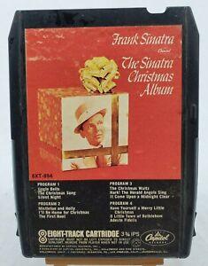 "VINTAGE Frank Sinatra ""The Sinatra Christmas Album"" 8XT-894 8 Track Capitol Rec."