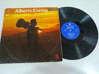 """Alberto Cortez El Compositor Cantante 1969 - LP Vinilo 12"""" G+/VG"""