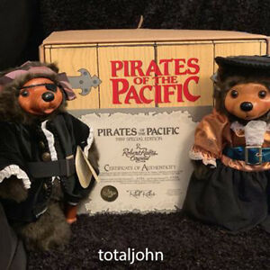 Raikes' Bears Pirates of the Pacific Billy Buccaneer and M' lady 1989