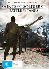 Saints And Soldiers 3 - Battle Of The Tanks (DVD) WAR [Region 4] NEW/SEALED