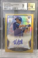 2013 Bowman Chrome MIKE OLT Rookie RC Auto GOLD Refractor #19/50 BGS 9/10
