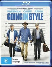 Going In Style (Blu-ray, 2017) NEW