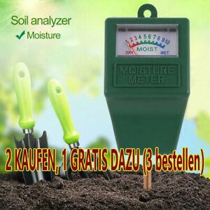 Feuchtigkeitsmesser Tester Pflanzen Bodenfeuchte Hygrometer Gartenmessgerät DE