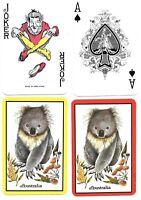 KOALA BEAR, AUSTRALIA, PLAYING CARDS DOUBLE DECK