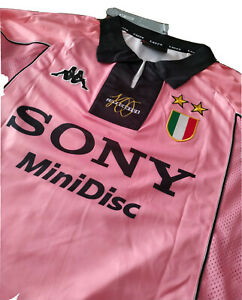 Maglia calcio vintage DEL PIERO juventus anno 1997 1998 numero 10 size M