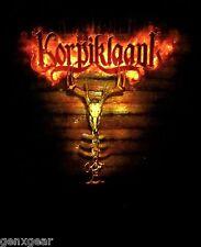 KORPIKLAANI cd lgo PAGANFEST TOUR 2009 Official Babydoll SHIRT LAST LRG new