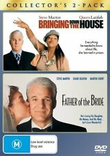 Bringing Down The House / Father Of The Bride (DVD, Region 4) - Brand New,Sealed