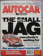 AUTOCAR 26/1/1994 featuring Fiat Coupe, Rover 220 Turbo, Honda Prelude 2.2i VTEC