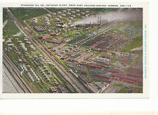 Standard Oil Co Refining Plant Indiana Harbor  IN  Unused  Postcard 743