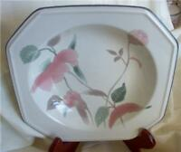 "MIKASA CONTINENTAL ""SILK FLOWERS"" RIMMED SOUP BOWL"
