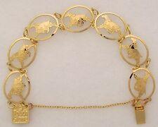 English Cocker Spaniel Gold Bracelet by Touchstone