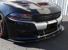 2015 2016 2017 Dodge Charger RT SXT SE Carbon Fiber Splitter w/ Rods