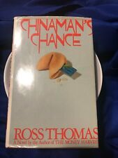Vintage First Edition HC Mint Condition Chinaman's Chance Ross Thomas
