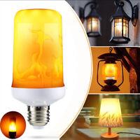 2018 LED Flame Effect Simulated Nature Fire Light Bulb E27 12W Decoration Lamp