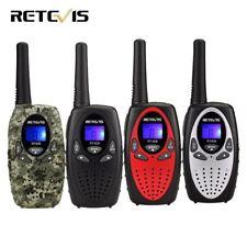 2pcs 4 Colori Mini Walkie Talkie Radio Bambini Retevis RT628 0.5 W UHF Frequenza PORTA