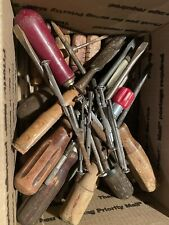 Vintage Lot Of Screwdrivers And Other Tools! Yankee North Bros! Goodell Pratt!