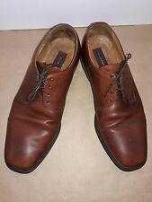 Florsheim Mens Brown Leather Cap Toe Oxford US size 11