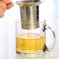 Stainless Steel Tea Infuser Fine Mesh Filter Reusable Strainer Single-Wire Mesh